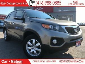 2012 Kia Sorento LX | MANUAL | CLEAN CARPROOF | LOW KMS |