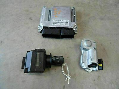2004 Mercedes W203 C220 diesel engine ECU kit with ignition & key A6461501079