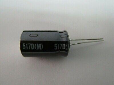 Sprague 517dm 220uf 100v Capacitor Lot Of 20
