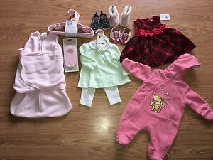 Baby girl assorted item lot