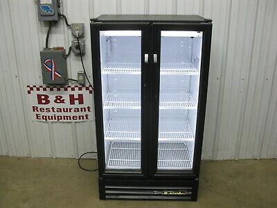 True Gdm-30-ld Glass 2 Door Merchandiser Refrigerator Pop Beer Beverage Cooler