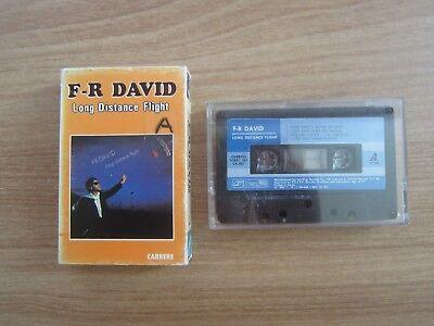 F.R. David – Long Distance Flight 1984 Korea Edition Cassette Tape