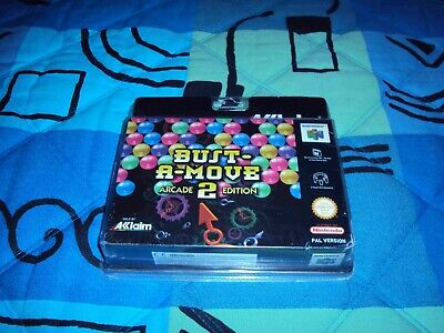 Bust-a-Move 2 - Jeu Nintendo N64 neuf sous blister rigide! NEW Sealed!