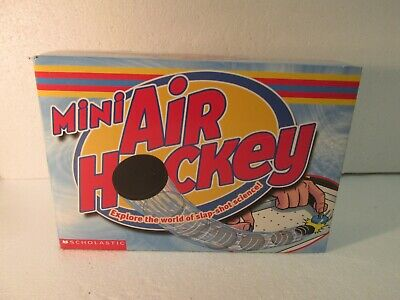 Scholastic Mini Air Hockey Explore The World Of Slap-Shot Science t4204