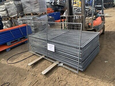 Mesh Panels Outdoor Animal Enclosure/Dog Cage Fencing Security JOB LOT OF 5