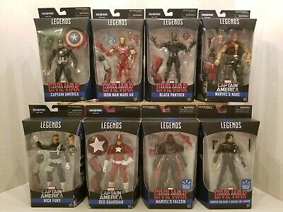 MARVEL LEGENDS Captain America Giant Man BAF Wave w/ Wal-Mart Exclusive Set of 8