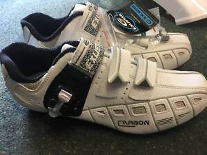 Exustar Road Race Bicycle Shoes Malaga Swan Area Preview