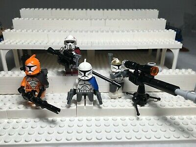 LEGO STAR WARS MINIFIGURE LOT---CLONE SQUAD--MIXED GROUP--