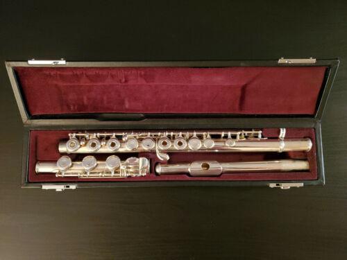 Yamaha Flute YFL-381 / B Foot / Open Hole / Solid Silver Headjoint / Inline G