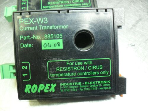 Ropex PEX-W3 885105 Resistron Current Transformer
