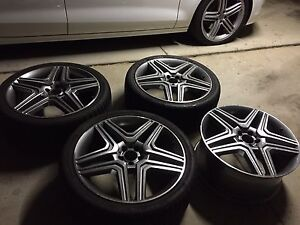 """22"""" Mercedes ML GL wheels + tyres Rochedale South Brisbane South East Preview"""