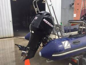 Mercury 75Hp EFI 4 Stroke motor - low 150 hours Melrose Park Mitcham Area Preview