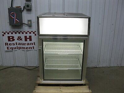 True Gdm-05-s Glass Door Merchandiser Stainless Steel Refrigerator Cooler