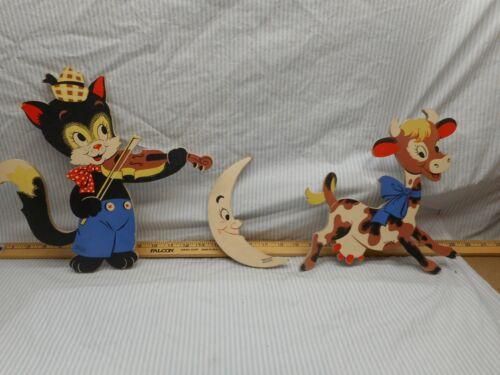 3 nursery rhyme chartors, by Dolly Toy company