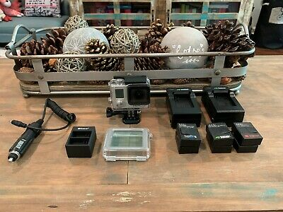 GoPro HERO 3+ Silver Edition WITH BacPac LCD Touch Screen