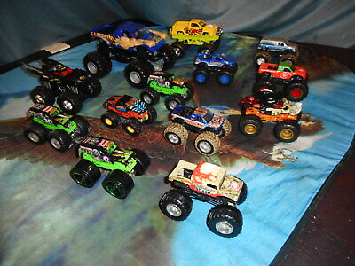 Mattel Hot Wheels Monster Jam 1:24 & 1:64 (Metal & Plastic base) Jams* All EUC