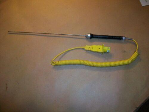 "Omega Thermocouple Exhaust Probe 12"" probe Type K"
