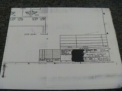 Grove Sm42rt Manlift Scissor Lift Hydraulic Schematic Electrical Wiring Diagram