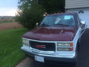 1996 GMC SIERRA 2500 Extended cab truck