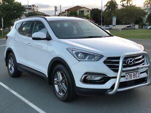 2018 Hyundai Santa Fe 4X4 DM5 MY18 Active White 6 Speed Sports Automatic Wagon Southport Gold Coast City Preview