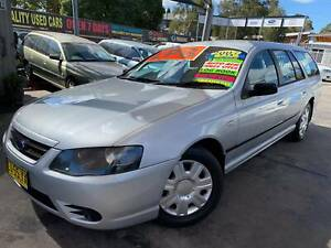 FORD FALCON BF MY08 WAGON MKII FACTORY LPG FEB/2020 REGO**5YR WARRANTY Bass Hill Bankstown Area Preview