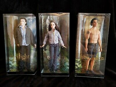 Twilight Set Dolls Pink Label Mattel 2009 FREE SHIPPING