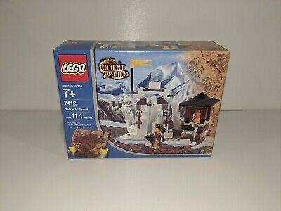 Lego Orient Expedition #7412 Yeti's Hideout Sealed Box