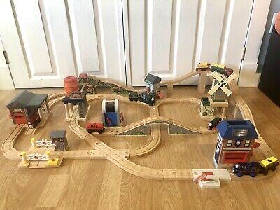 Thomas The Train Wooden DELUXE AROUND SODOR SET FERDINAND MISTY WINDMILL BARREL