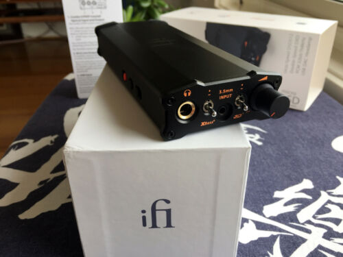 iFi micro iDSD Black Label DAC and headphone amplifier - mint condition