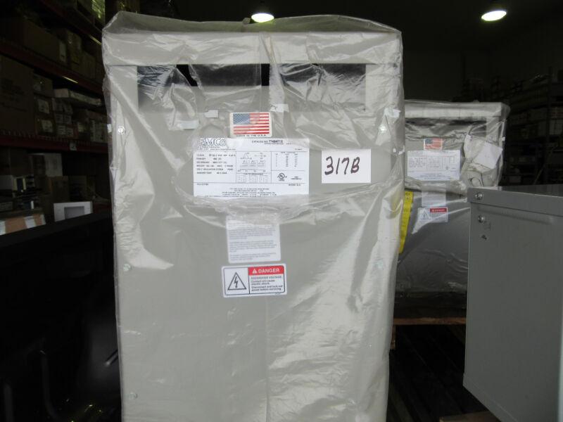 Temco Transformer 15 KVA Primary 480V Secondary 480Y/277V 3-Phase NEW!!!