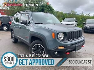 2015 Jeep Renegade Trailhawk | 1OWNER | LEATHER | NAV | CAM