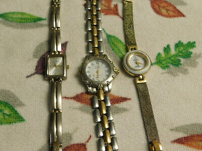 Anne Klein Watch Lot (Lot of 3) fresh batteries (buy 2 lots get 1 free)
