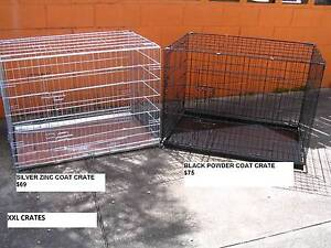 NEW XXL Collapsible Metal Pet /Dog Puppy Cage Crate-METAL TRAY Kingston Logan Area Preview