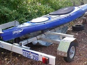Kayak and trailer Glen Forrest Mundaring Area Preview