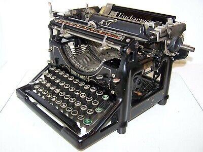 Antique 1927 Underwood Model 5 Vintage Typewriter #2251416-5