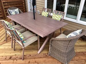 8-pc. All weather Patio Dining set