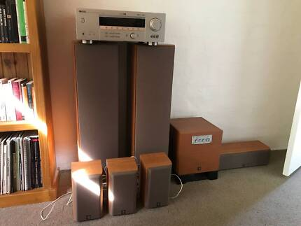 Yamaha HTR-5840 100W x 6 channel 6.1 surround-sound stereo system
