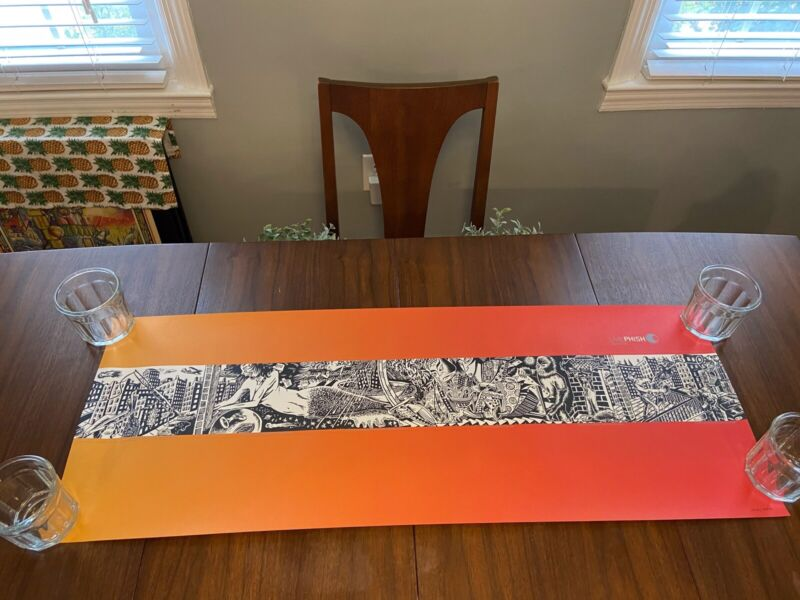 Live Phish Poster- Set Of 4 Jim Pollock