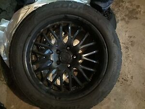 "18"" rims and tires"