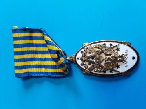 Vintage Masonic National Sojourners Medal Pin