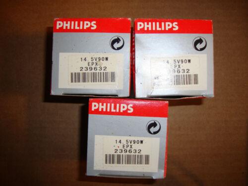 Phillips Projection Lamp - EPX - 14.5 volt - 90 watt - 3 Lamps