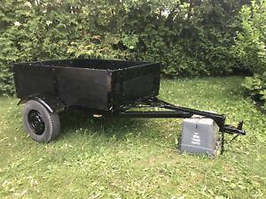 Handy utility trailer