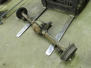Firebird 3 08 gears non posi open complete rear end axle 10 bolt