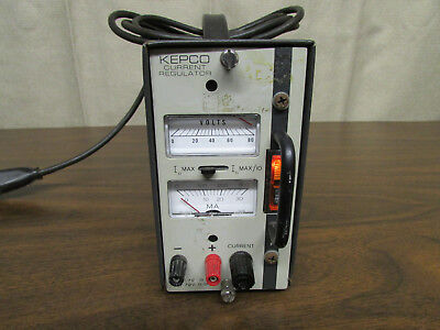 Kepco Cc-72-0.3m Series Cc Current Stabilizer Power Supply