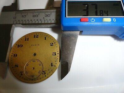 Elgin Metal Pocket Watch Dial