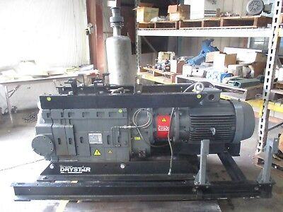 Edwards Drystar Vacuum Pump W 30hp Motor 1020831j Pump Modela70574908xs Used