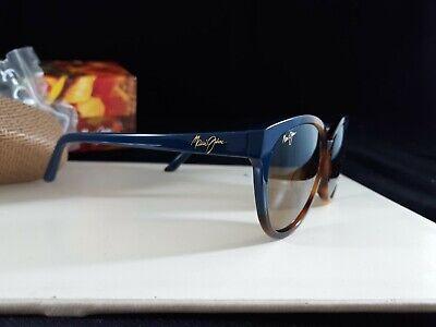 Women's Maui Jim 'Sunshine' Sunglasses - Tortoise Navy Blue Bronze   #8