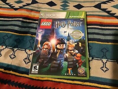 LEGO Harry Potter: Years 1-4 - Xbox 360 Game Complete W/ Manual