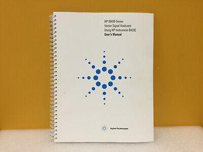 Agilent 89441-90013 89400 Series Vector Signal Analyzers Users Manual