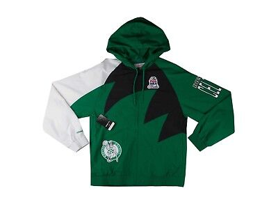 Mitchell & Ness Celtics Shark Tooth Full Zip Jacket Celtic Full Zip Jacket